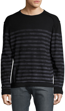 Gilded Age Men's Striped Drop Shoulder Sweater