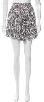 Piamita Printed Silk Shorts w/ Tags