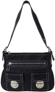 Marc Jacobs Black Pebbled Leather Small Hobo Shoulder Bag - BLACK - STYLE
