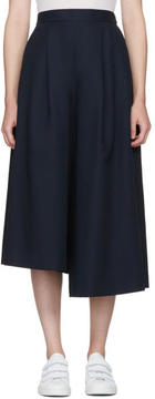Enfold Navy Skirted Trousers