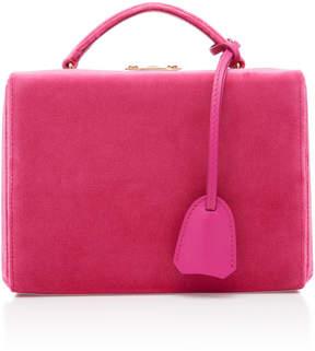 Mark Cross Grace Small Velvet Shoulder Bag