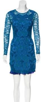 Matthew Williamson Lace Mini Dress