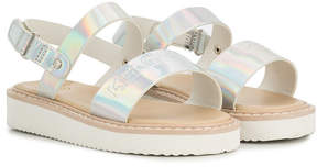 Kenzo metallic touch-strap sandals