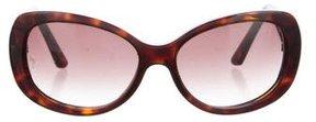 Cartier Tortoiseshell Round Sunglasses