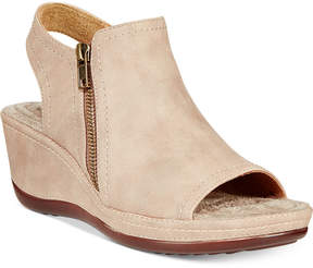 White Mountain Cliffs by Farrell Wedge Sandals Women's Shoes