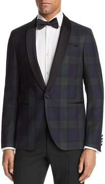 BOSS Nemir Plaid Blackwatch Regular Fit Tuxedo Jacket