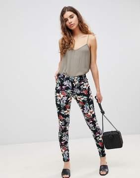 Brave Soul Karlie Floral Print Pants
