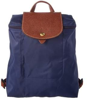Longchamp Le Pliage Nylon Backpack. - NAVY - STYLE