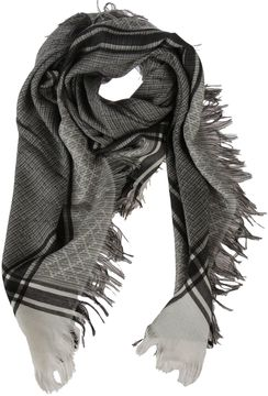 Gucci Jacquard Knitted Scarf
