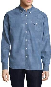 Jachs Men's Cotton Embroidered Sportshirt