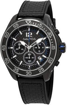 Nautica NXM 1600 Chronograph Black Dial Men's Watch