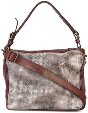 Campomaggi box-style shoulder bag