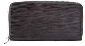 Louis Vuitton Black Epi Leather Zippy Wallet. - BLACK MULTI - STYLE