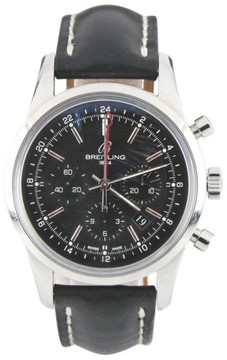 Breitling Stainless Steel Transocean Chronograph GMT Automatic 43mm Limited Edition of 2000 Pieces Watch
