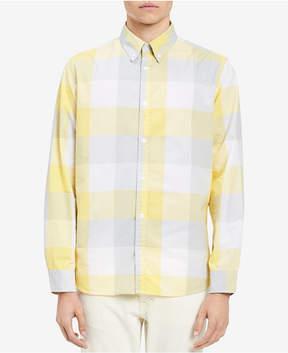Calvin Klein Jeans Men's Grindle Buffalo Check Shirt