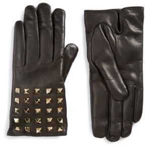 Valentino Women's Rockstud Leather Gloves