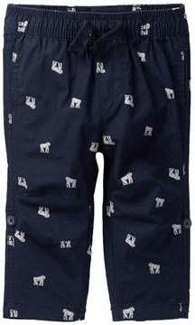 Joe Fresh Gorilla Print Pant (Baby Boys)