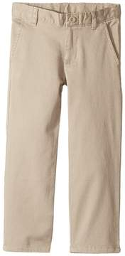 Nautica Regular Flat Front Twill Stretch Pants Boy's Casual Pants