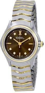 Ebel Wave Brown Galvanic Dial Ladies Watch