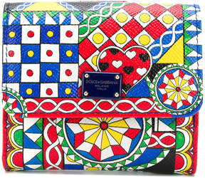 Dolce & Gabbana Cart print wallet
