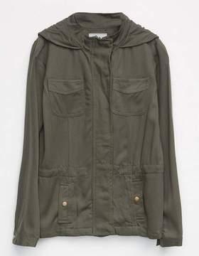 Full Tilt Rayon Twill Girls Anorak Jacket