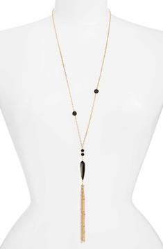 Ettika Women's Tassel Pendant Necklace