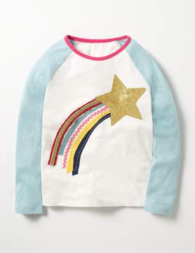 Boden Glitter Raglan T-shirt