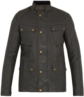 Belstaff Woodbridge waxed cotton-blend field jacket