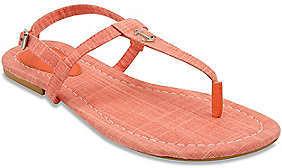 Nautica Above Deck Linen T-Strap Sandal