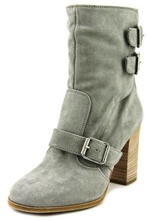 Belstaff Bedlington Round Toe Suede Ankle Boot.