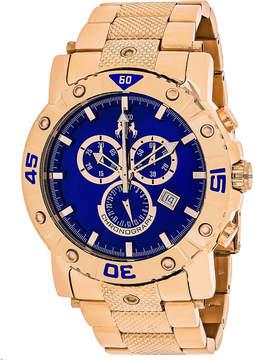 Jivago Mens Rose Goldtone Bracelet Watch-Jv9126xl