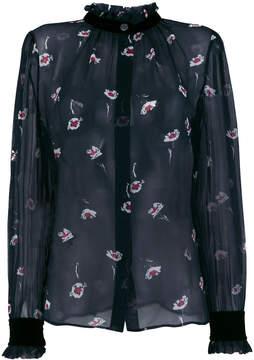 Armani Jeans floral print blouse