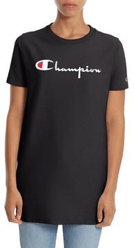 Champion Women's Logo Print Longline Tee