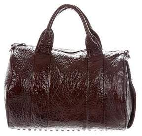 Alexander Wang Patent Leather Rocco Duffel Bag