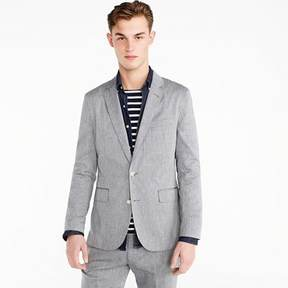 J.Crew Unstructured Ludlow blazer in stretch cotton-linen