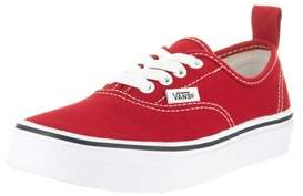 Vans Kids Authentic Elastic (elastic Lace) Skate Shoe.