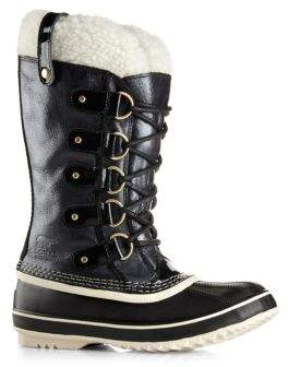 Sorel Joan Of Arctic Leather & Faux Shearling Winter Boots