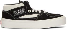 Vans Black OG Half Cab LX Mid-Top Sneakers