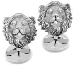 Cufflinks Inc. Cufflinks, Inc. Sterling Silver Lion Head Cuff Links