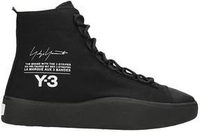 Y-3 Bashyo High Black Sneakers