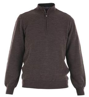 Paul & Shark Men's Brown Wool Sweater.