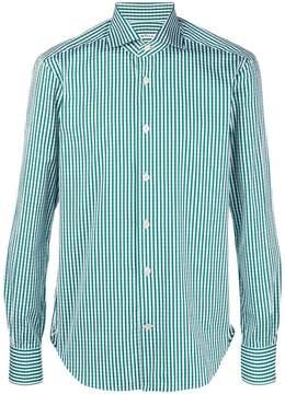 Kiton classic checked shirt