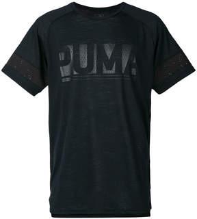 Puma logo print T-shirt