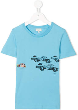 Paul Smith car print T-shirt
