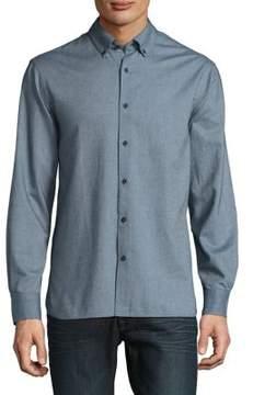 Black & Brown Black Brown Plaid Cotton Button-Down Shirt