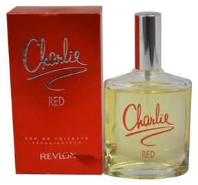 Charlie Red by Revlon Eau de Toilette Women's Spray Perfume - 3.4 fl oz