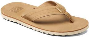 Reef Sand Voyage Le Leather Flip-Flop - Men