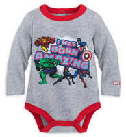 Disney Marvel Comics Cuddly Bodysuit for Baby