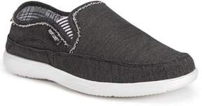 Muk Luks Men's Otto Canvas Slip-on Boat Shoes