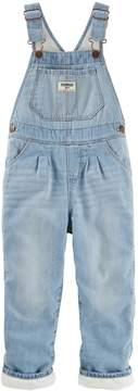 Osh Kosh Oshkosh Bgosh Baby Girl Fleece-Lined Overalls